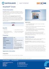 Dryshield Cream Datasheet