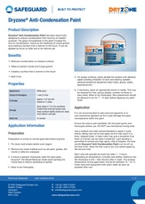 Dryzone Anti Condensation Paint Datasheet