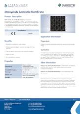 Oldroyd Gtx Geotextile Membrane Datasheet