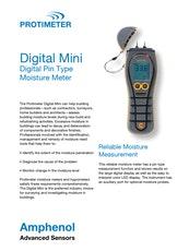 Protimeter Digital Mini Datasheet