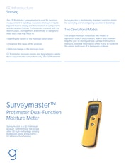Protimeter Surveymaster Datasheet