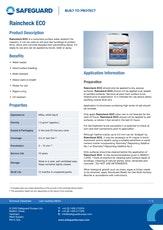 Raincheck Eco Datasheet