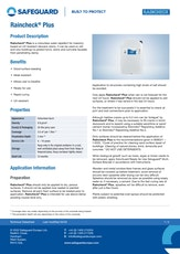 Raincheck Plus Datasheet