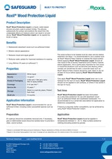 Roxil Wood Protection Liquid Datasheet