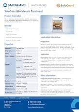 Soluguard Woodworm Treatment Datasheet