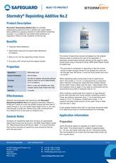 Stormdry Repointing Additive No2 Datasheet