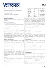Vandex Bb75 Datasheet