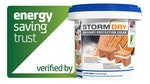 Stormdry Masonry Protection Cream has been verified by the Energy Saving Trust