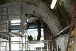 Waterproofing arches with Oldroyd Xv Clear Cavity Drainage Membrane