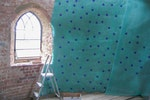 Applying Oldroyd Xp diagonally up the walls