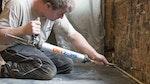 Heritage property restored by Dryzone Hi-Lime Renovation Plaster in domestic property in Warnham