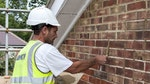 Stormdry protects cavity wall insulation in council property in Crawley