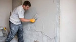 Damp-resistant plaster to combat penetrating damp in domestic property in Horsham