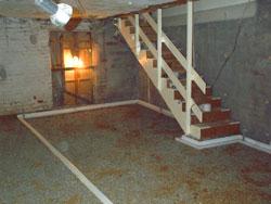 Hotel basement conversion