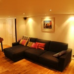 Basement conversion – living room