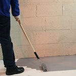 ECS Epoxy Floor Coating. Damp-proofing for floors