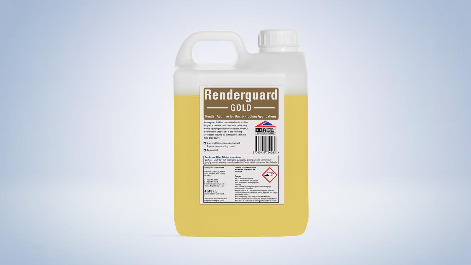 Renderguard Replastering Additive | Rising Damp