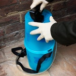 Remove the handle from the sprayer