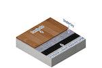 Drybase applied underneath laminate flooring