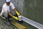 Applying Vandex Construction Joint Tape