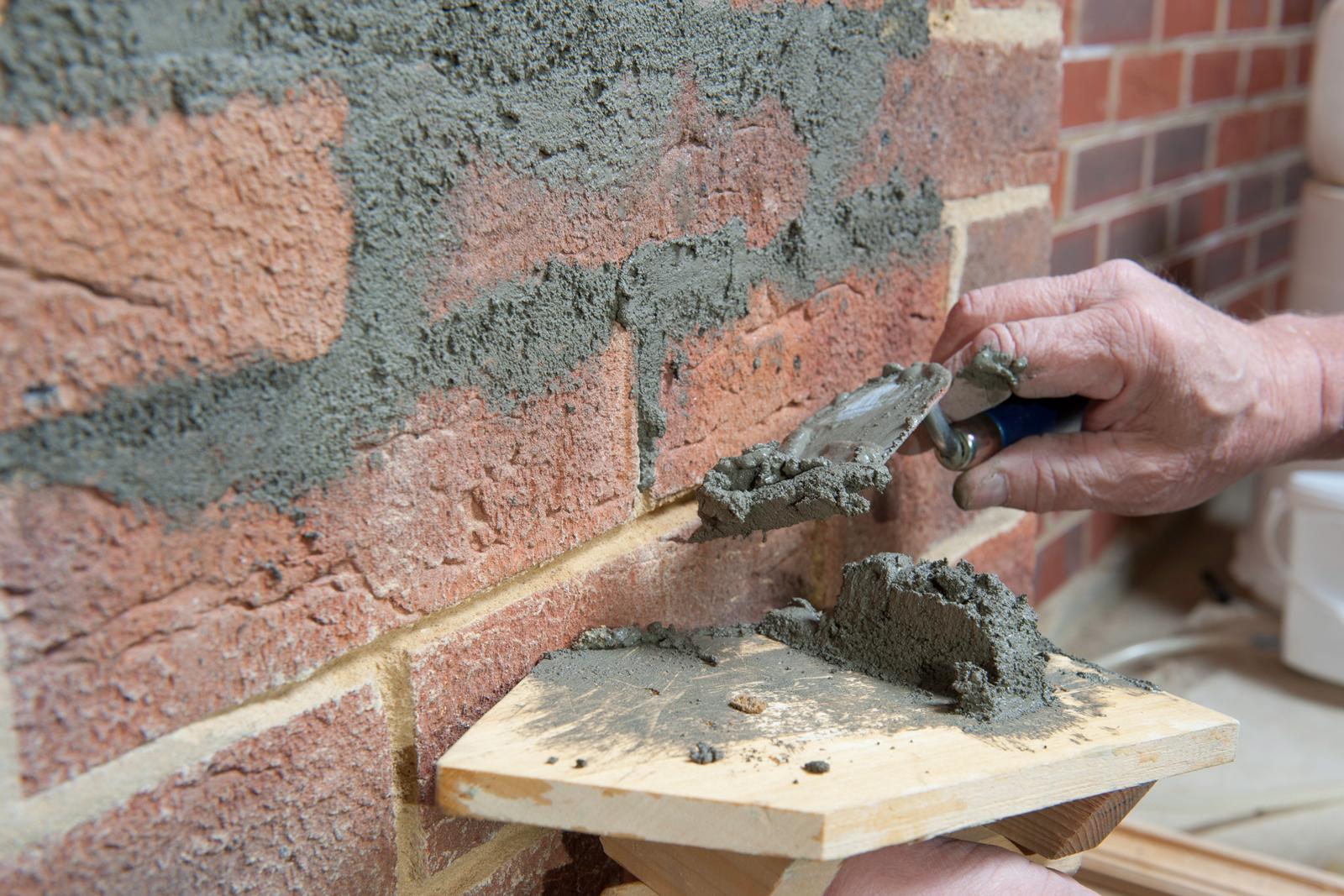 how to make up concrete mortar