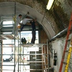 Waterproofing railway arches