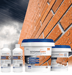 The Stormdry System - The complete masonry waterproofing range