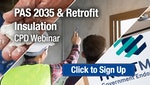 PAS 2035 and Retrofit Insulation CPD Webinar