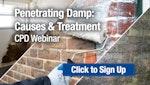 Penetrating Damp: Causes & Treatment CPD Webinar