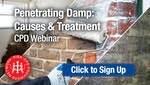 Penetrating Damp: Causes and Treatment - RIBA-approved CPD Webinar