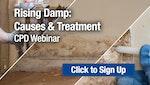 Rising Damp: Causes & Treatment CPD Webinar