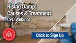 Rising Damp: Causes and Treatment - RIBA-approved CPD Webinar