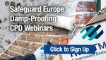 Safeguard Europe Damp-Proofing CPD Webinars Sign-Up Page