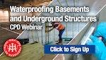 Waterproofing Basements & Underground Structures CPD Webinar