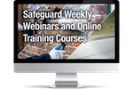 Safeguard Europe weekly webinars and online training courses.